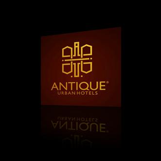 Thiết Kế Logo - Antique Urban Hotels - 1