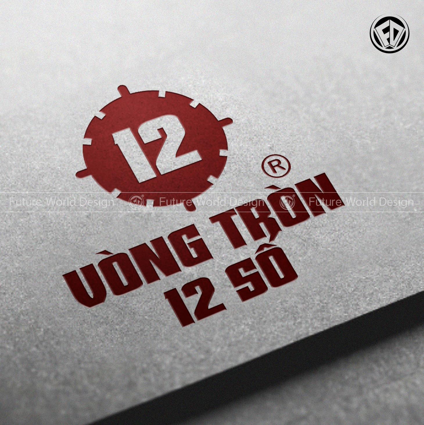 Vòng Tròn 12 Số - Thiết Kế Logo Chuyên Nghiệp